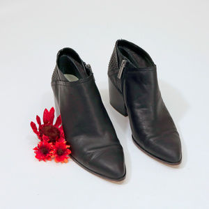 1 State Leather Ankle Boots Black US 8.5